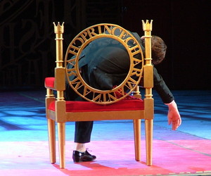 The letters for this throne I built were laser-cut by another company and shipped to the opera.