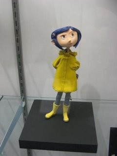 A figurine used in the film Coraline