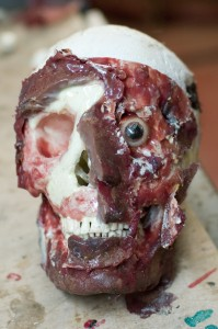 After the face was torn off