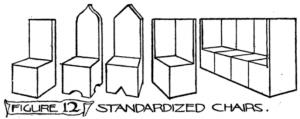 Figure 12: Standardized chairs