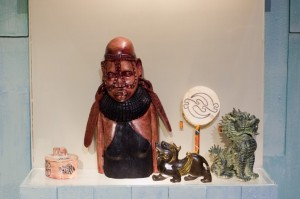 Ethnic artifacts in Slave Shack