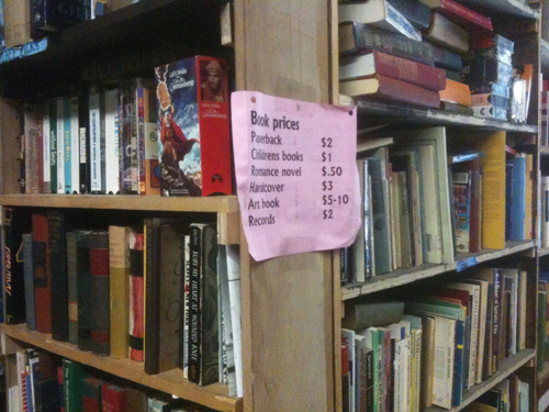 Books and their prices