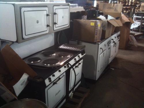 A small sampling of stoves