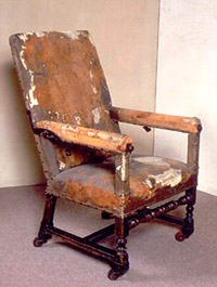 Moliere's armchair
