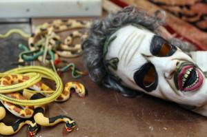 Supplies for the Medusa head