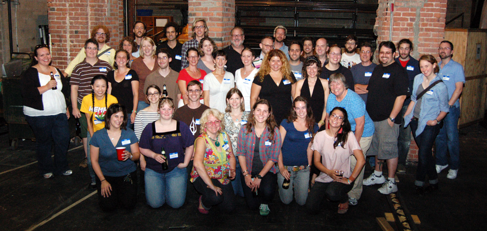 Attendees at the 2010 NYC Props Summit