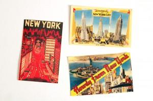 Several vintage postcard options