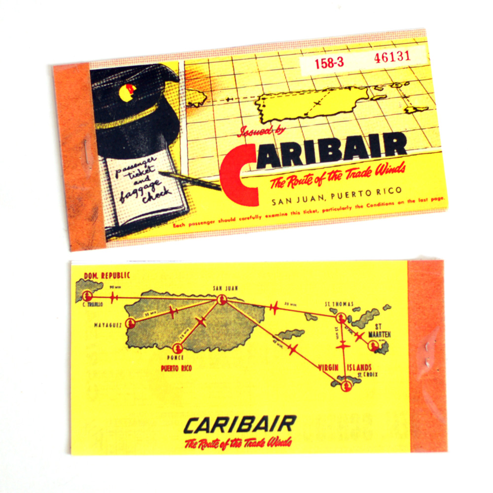 Airplane ticket outside cover