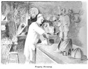 The Property Workshop at the Metropolitan Opera-House, 1888