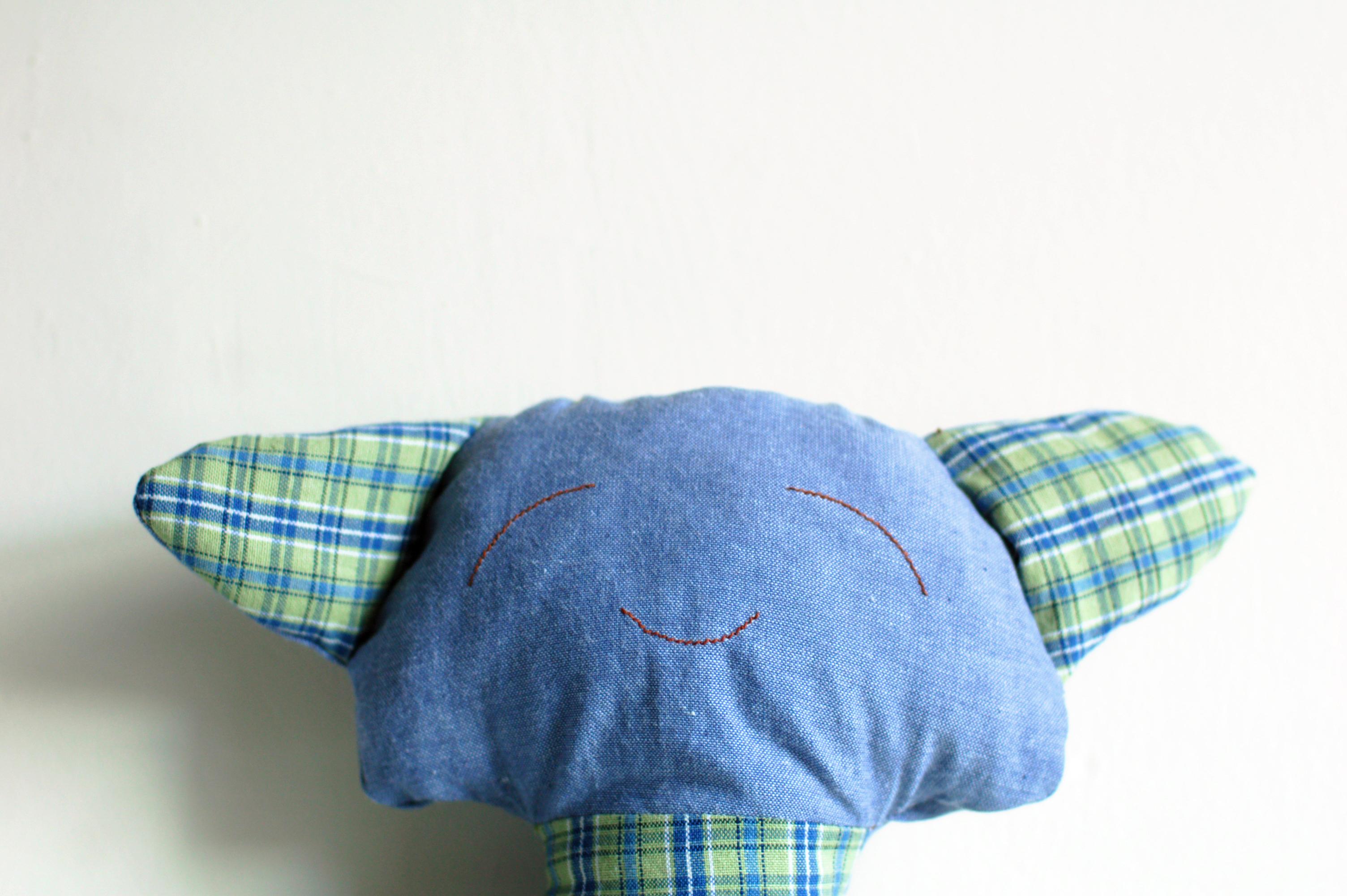 Pachi the stuffed kitten