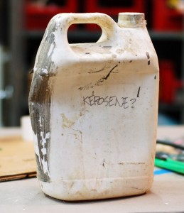 Badly labeled bottle