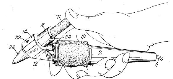 Paulsen's portable thermoplastic cement dispenser