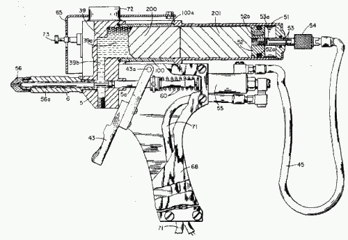 George Schultz's glue gun