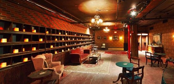 """The lobby of the McKittrick Hotel, where """"Sleep No More"""" is set"""
