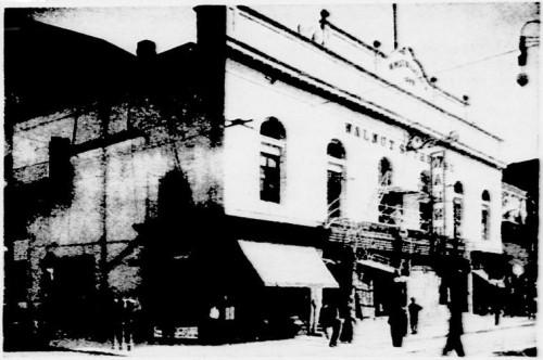 Walnut St Theatre, 1910