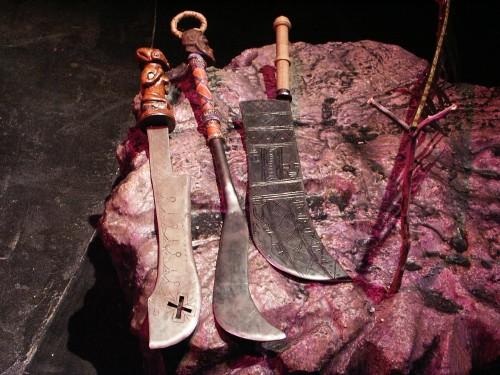 A collection of Yoruban swords