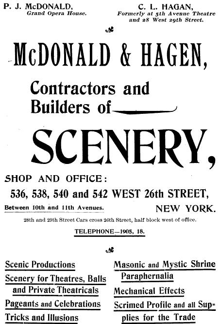 McDonald and Hagen scenery