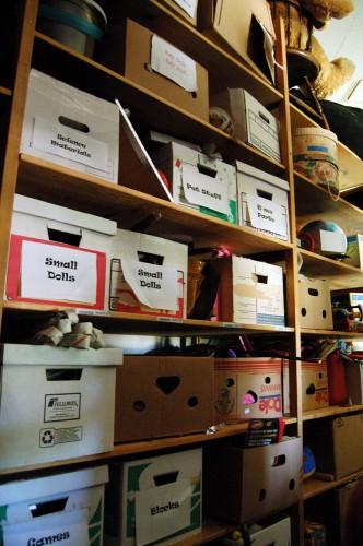 Prop Storage