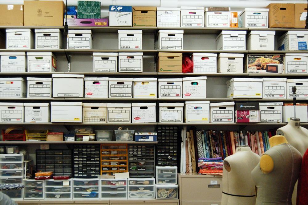 attic organization ideas - storage Prop Agenda