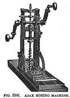 Ajax boring machine
