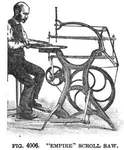 Empire scroll saw, 1897