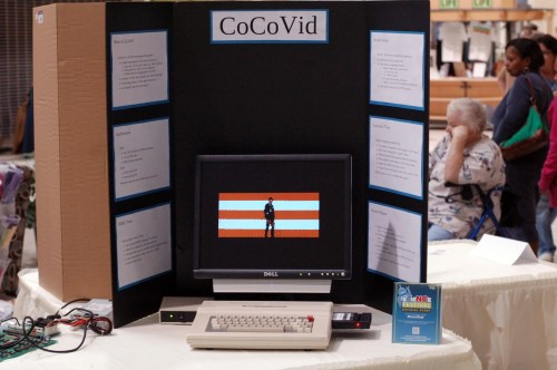 Playing video on the CoCo computer
