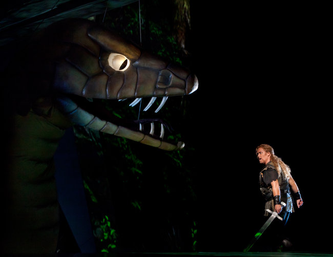 Siegfried at the Met Opera. Photo by Sara Krulwich, New York Times