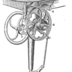 Portable jig-saw, 1884