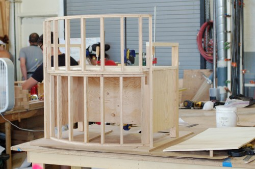 Beginnings of the structure and shape