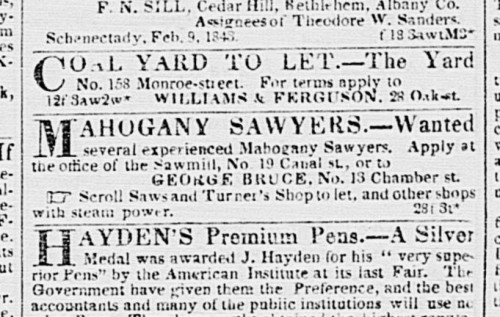 New York Daily Tribune, March 01, 1843