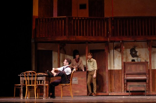 The saloon in Crazy for You