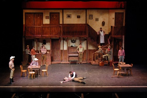 """The saloon in """"Crazy for You"""""""