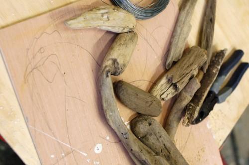 Driftwood hen