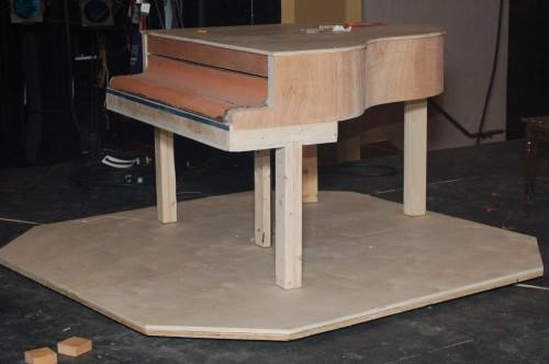 Unpainted Piano