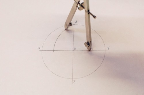 how to make pencil compass