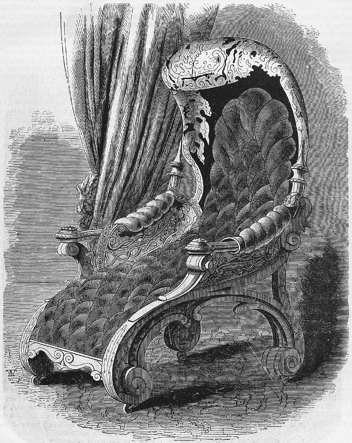 Papier Mache Chair