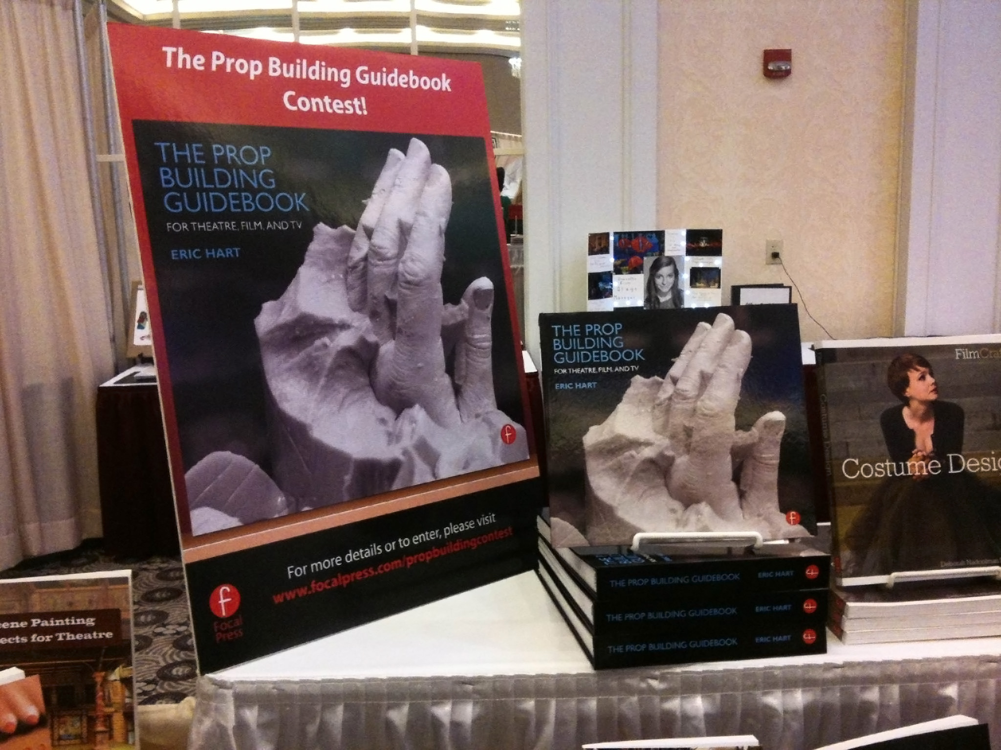 Book display at SETC