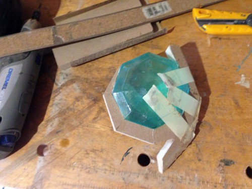 Piecing together the emerald