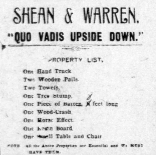 Shean & Warren prop plot