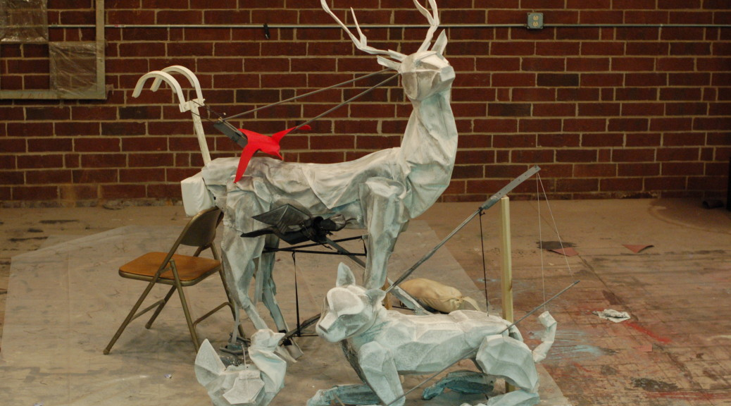 Puppets from Snow Queen