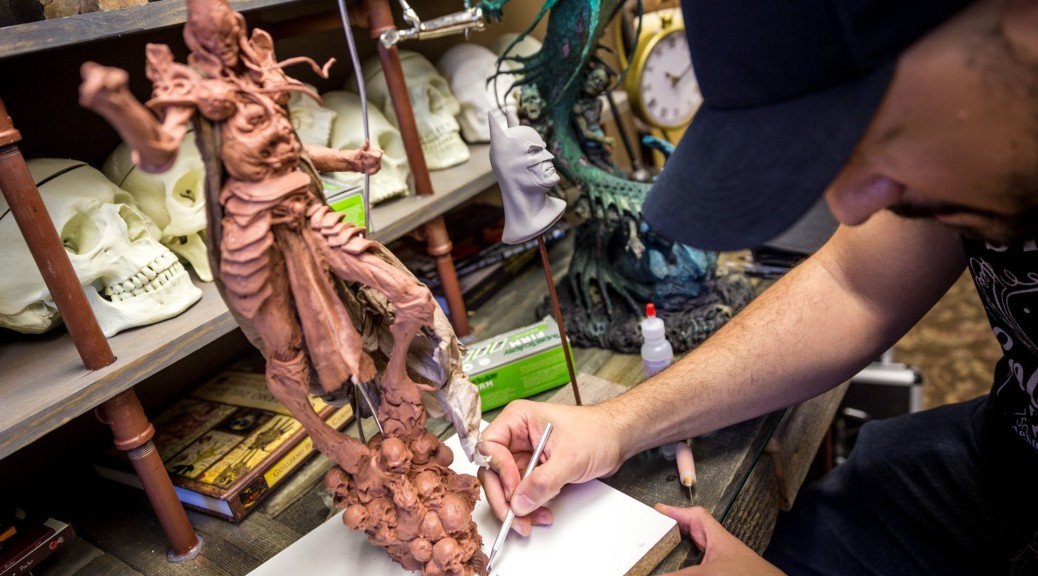 Sculpting and Painting at Sideshow Collectibles