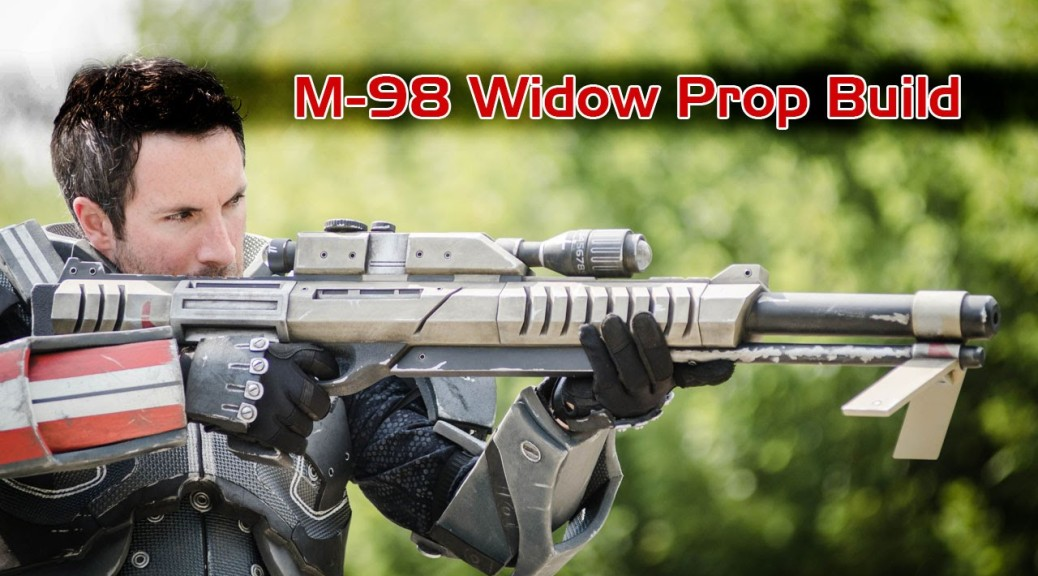 Bill Doran Builds a Sniper Rifle from Mass Effect