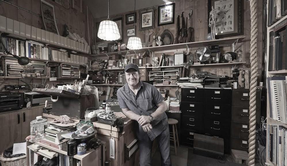 Ross MacDonald. Photograph by Greg Preston