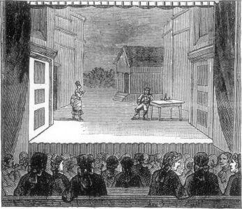 The John Street Theatre, 1781