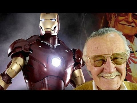 Stan Lee Builds an Iron Man Suit