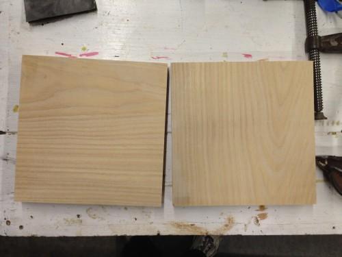 Preparing the boards