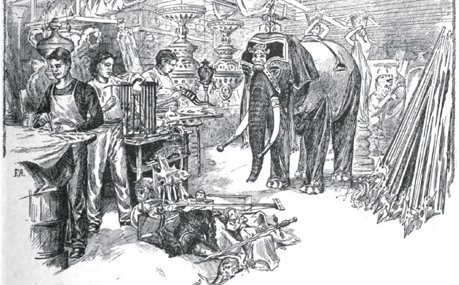 A property room, 1893