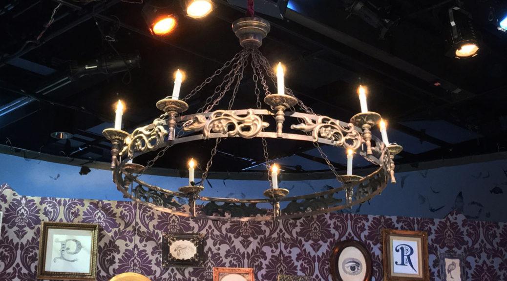 Irma Vep chandelier