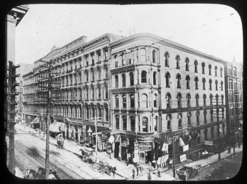 Pike's Opera House, 1892