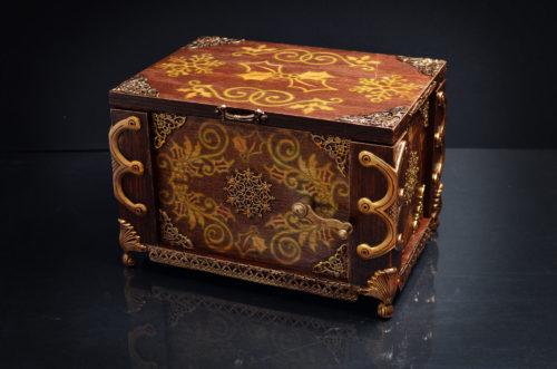 Exterior of box